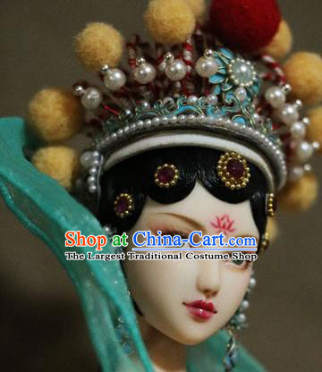 Chinese Ancient Beijing Opera Empress Phoenix Coronet Headwear Hairpins Traditional Palace Hair Accessories for Women