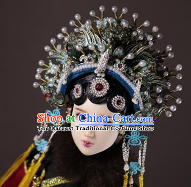 Chinese Ancient Queen Headwear Traditional Beijing Opera Phoenix Coronet Hair Accessories for Women