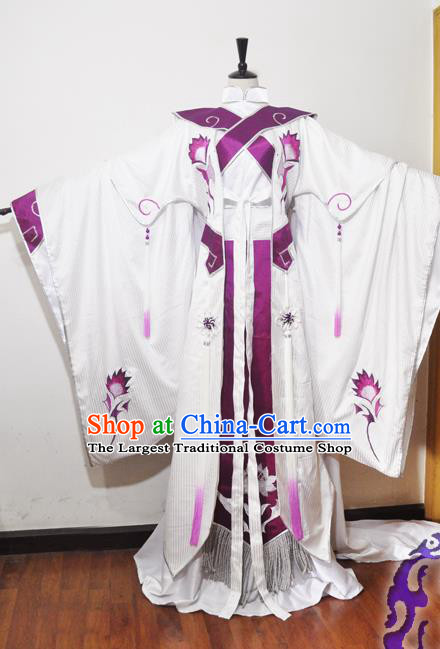 Traditional Chinese Han Dynasty Court Princess Hanfu Dress Ancient Female Knight Embroidered Costume for Women
