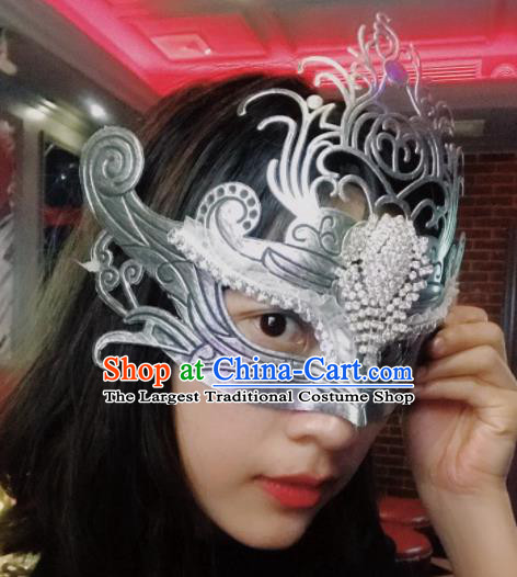 Top Halloween Stage Show Cosplay Face Mask Brazilian Carnival Catwalks Accessories for Women