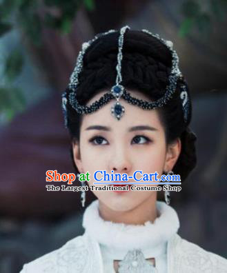 Chinese Handmade Hanfu Hair Clasp Tang Dynasty Hairpins Traditional Ancient Imperial Consort Hair Accessories for Women