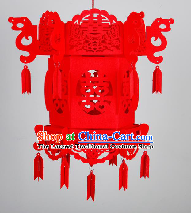 Handmade Chinese Palace Lanterns Traditional Red Lantern Ancient Ceiling Lamp