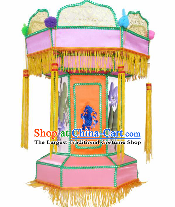 Handmade Chinese Palace Lanterns Traditional New Year Lantern Ancient Ceiling Lamp