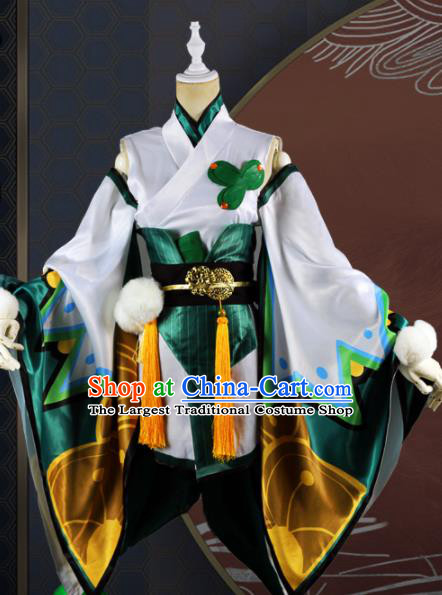 Chinese Traditional Cosplay Game Peri Costume Ancient Swordswoman Hanfu Dress for Women