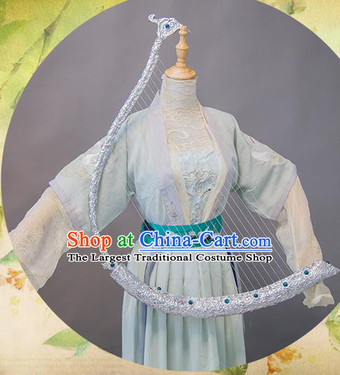 Chinese Traditional Cosplay Costume Ancient Court Maid Hanfu Dress for Women