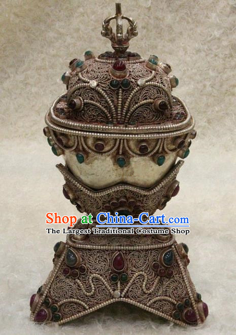Chinese Traditional Feng Shui Items Buddhism Copper Implement Buddhist Sculpture Decoration