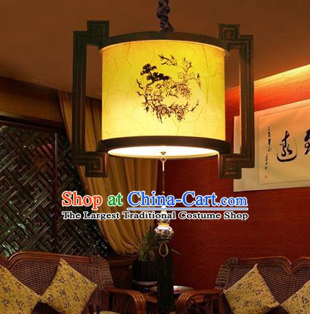 Chinese Traditional New Year Palace Lantern Handmade Hanging Lanterns Ceiling Lamp