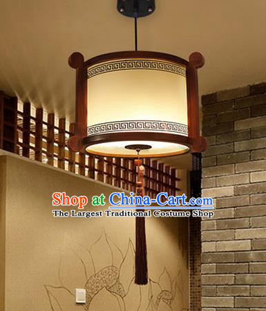 Chinese Traditional Ceiling Wood Palace Lantern Handmade New Year Lanterns Hanging Lamp