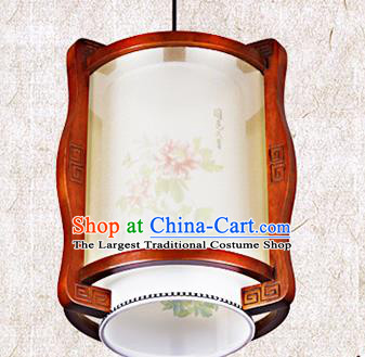 Chinese Traditional Ceiling Wood Carving Palace Lantern Handmade New Year Lanterns Hanging Lamp