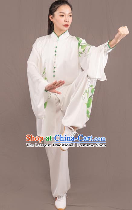 Traditional Chinese Martial Arts Wushu Costume Professional Tai Chi Competition Kung Fu Uniform for Women