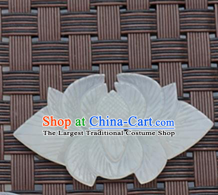 Chinese Ancient Wedding Carving Flowers Jade Pendant Traditional Handmade Jade Craft Jewelry Decoration Accessories