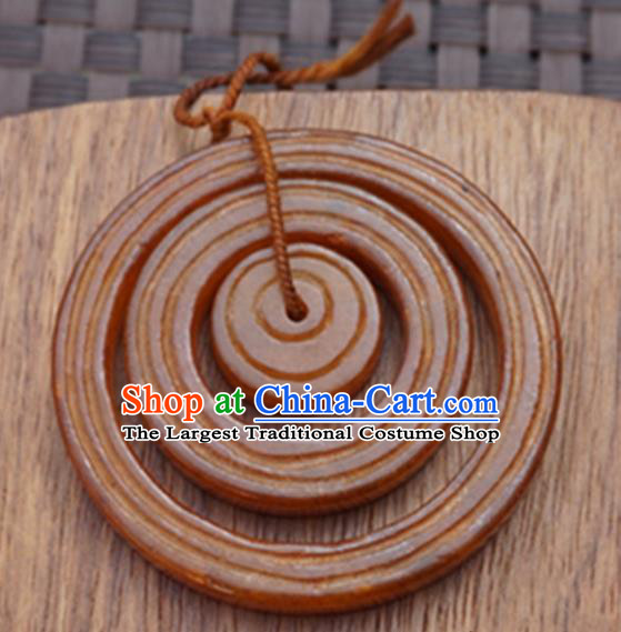 Chinese Ancient Jewelry Accessories Carving Rings Jade Pendant Traditional Handmade Jade Craft Decoration