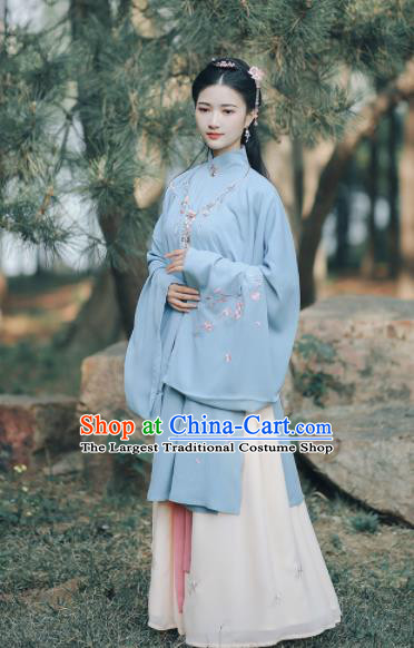 Chinese Ancient Royal Princess Hanfu Dress Traditional Drama Ming Dynasty Rich Lady Historical Costume for Women