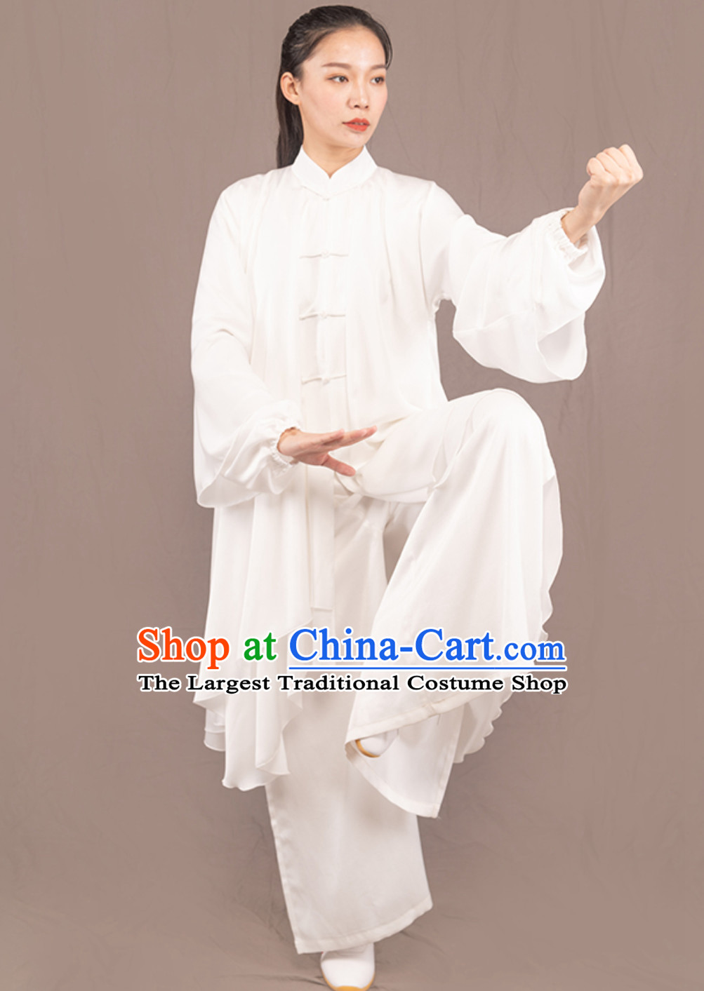 Top Chinese Traditional Competition Championship Professional Tai Chi Uniforms Taiji Kung Fu Wing Chun Kungfu Tai Ji Sword Gong Fu Master Clothing Suits Clothes Complete Set