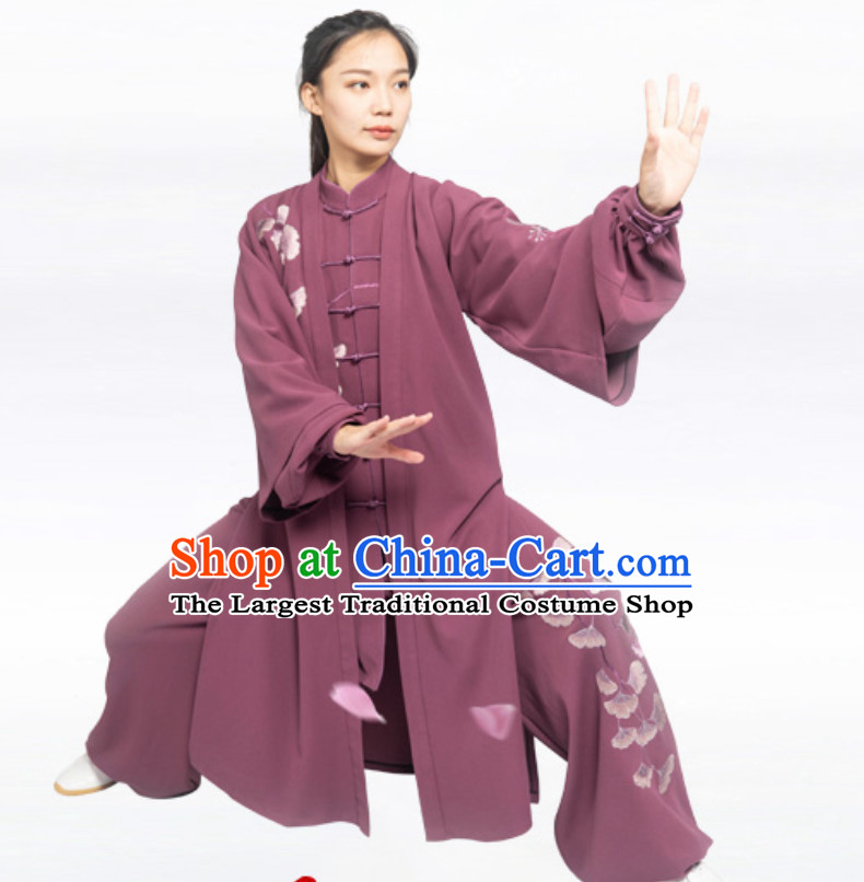 Autumn Wear Top Chinese Classical Competition Championship Professional Tai Chi Uniforms Taiji Kung Fu Wing Chun Kungfu Tai Ji Sword Master Dress Clothing Suits Clothing Complete Set