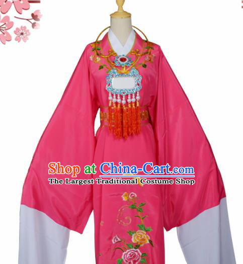 Handmade Chinese Beijing Opera Niche Costume Peking Opera Scholar Jia Baoyu Rosy Clothing for Men