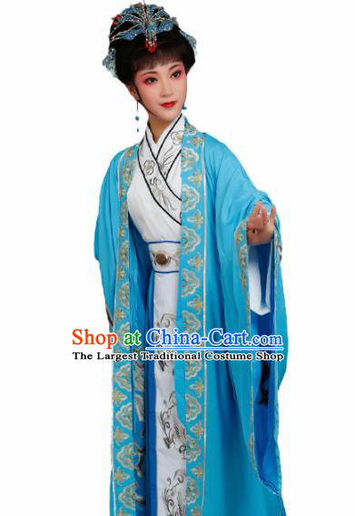 Handmade Chinese Beijing Opera Actress Embroidered Dress Traditional Peking Opera Queen Costume for Women