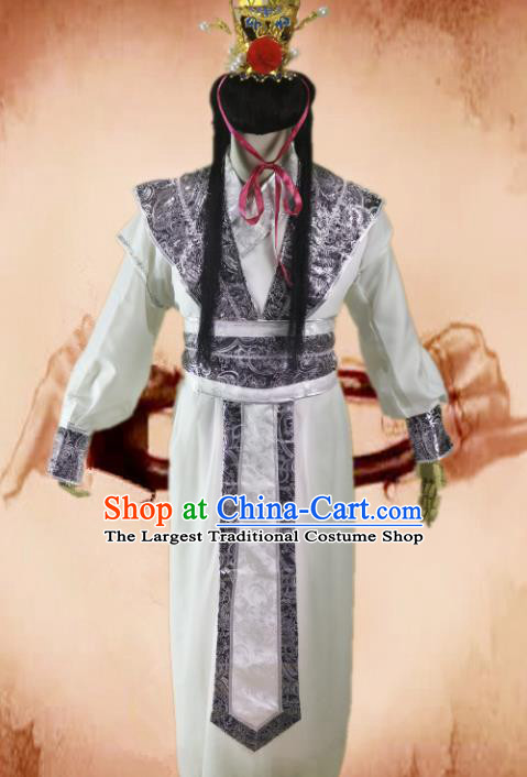 Chinese Traditional Ancient Swordsman Costume Ming Dynasty Nobility Childe Clothing for Men