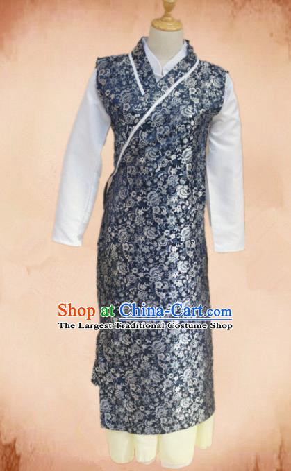 Traditional Chinese Ming Dynasty Young Lady Hanfu Dress Ancient Maidservants Costume for Women