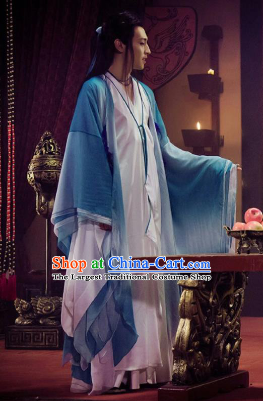 Drama Hoshin Engi Chinese Traditional Ancient Shang Dynasty Nobility Childe Historical Costume for Men