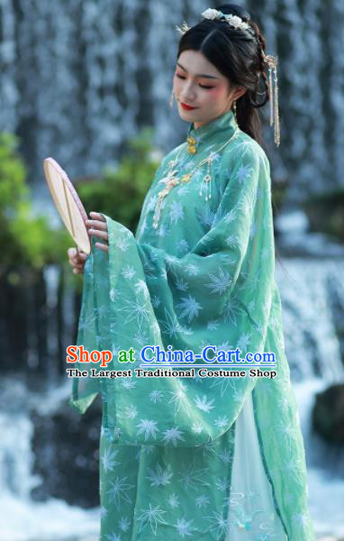 Chinese Traditional Ming Dynasty Female Historical Costume Ancient Aristocratic Dowager Hanfu Dress for Women