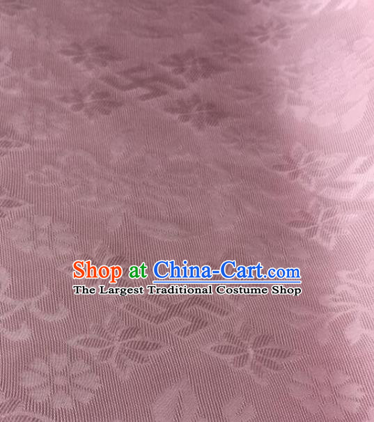 Chinese Traditional Rich Flowers Pattern Design Pink Brocade Fabric Asian Silk Fabric Chinese Fabric Material