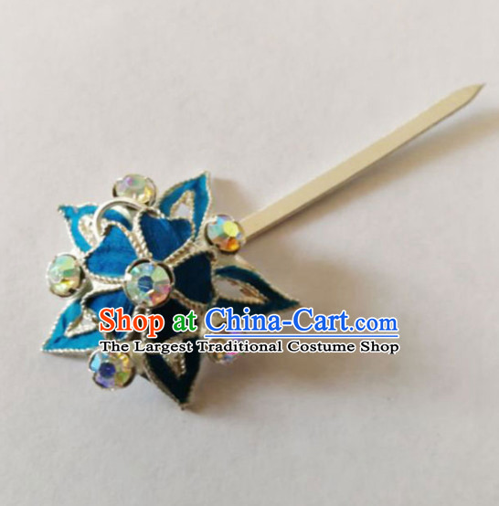 Chinese Ancient Court Princess Hairpins Plum Hair Clip Traditional Beijing Opera Diva Hair Accessories for Adults