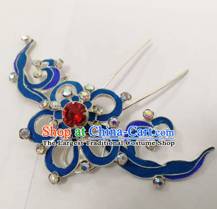Chinese Ancient Court Princess Hairpins Hair Clip Traditional Beijing Opera Diva Hair Accessories for Adults
