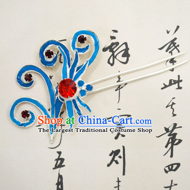 Chinese Ancient Princess Hairpins Palace Hair Clip Traditional Beijing Opera Diva Court Hair Accessories for Adults