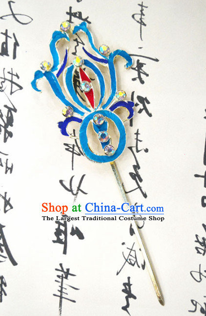 Chinese Ancient Queen Hairpins Palace Hair Clip Traditional Beijing Opera Diva Court Hair Accessories for Adults