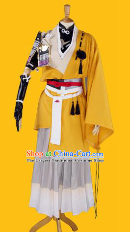 Customized Chinese Cosplay Knight Costume Ancient Swordsman Clothing for Men