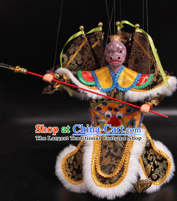 Traditional Chinese Handmade Bull Demon King Puppet Marionette Puppets String Puppet Wooden Image Arts Collectibles