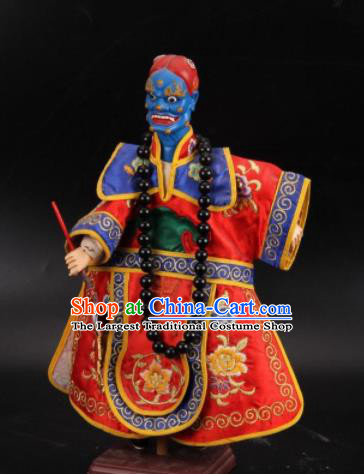 Traditional Chinese Handmade Kuixing Puppet Marionette Puppets String Puppet Wooden Image Arts Collectibles
