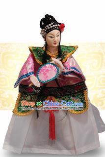 Chinese Traditional Beijing Opera Princess Marionette Puppets Handmade Puppet String Puppet Wooden Image Arts Collectibles
