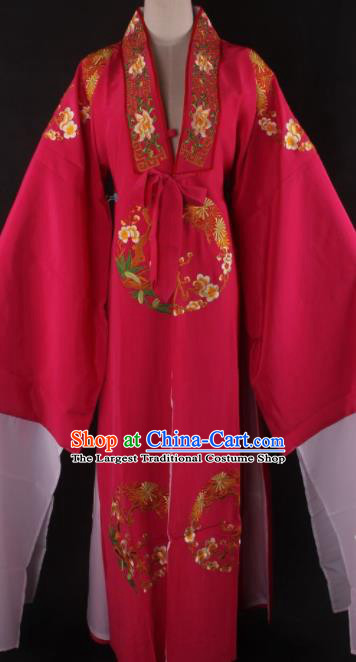 Traditional Chinese Shaoxing Opera Niche Gifted Scholar Peach Pink Robe Ancient Childe Costume for Men