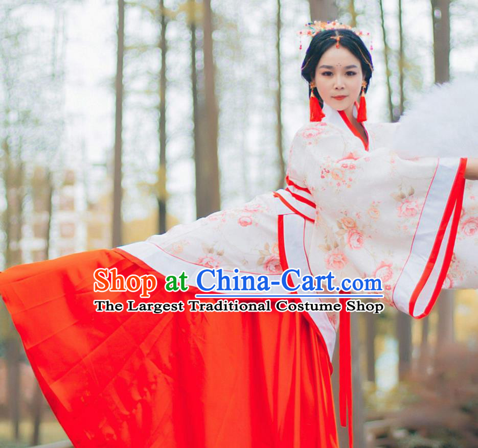 Chinese Beautiful Dance Wu Gui Costume Traditional Fan Dance Classical Dance Competition Dress for Women