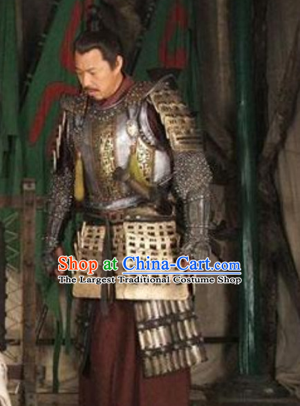 Ancient Chinese General Sun Tzu Armor Costume Complete Set