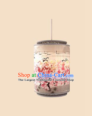 Chinese Traditional Spring Festival Painting Plum Blossom Hanging Lantern Handmade Palace Lanterns