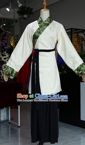 Chinese Ancient Drama Country Lady Costumes Traditional Song Dynasty Water Margin Pan Jinlian Dress for Women