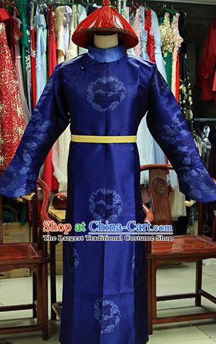 Chinese Ancient Drama Costumes Traditional Ming Dynasty Imperial Bodyguard Clothing for Men