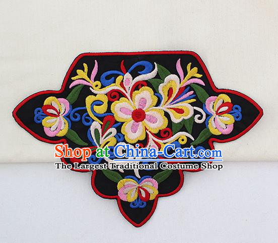 Chinese Ancient Handmade Embroidered Patch Traditional Embroidery Appliqu Craft for Women