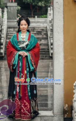 Chinese Traditional Cosplay Imperial Consort Dress Custom Ancient Swordswoman Princess Costume for Women