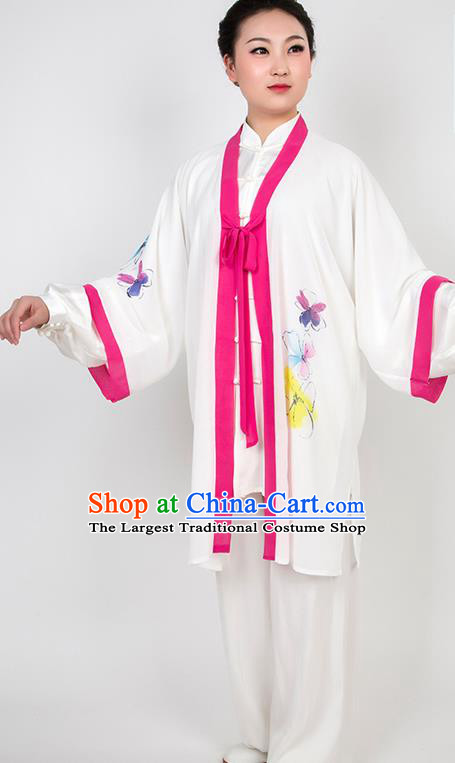 Chinese Traditional Martial Arts Printing Costume Best Kung Fu Competition Tai Chi Training Clothing for Women