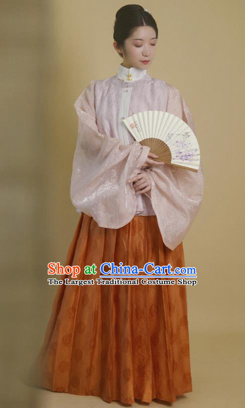 Traditional Chinese Ming Dynasty Court Lady Hanfu Dress Ancient Drama Palace Princess Replica Costumes for Women
