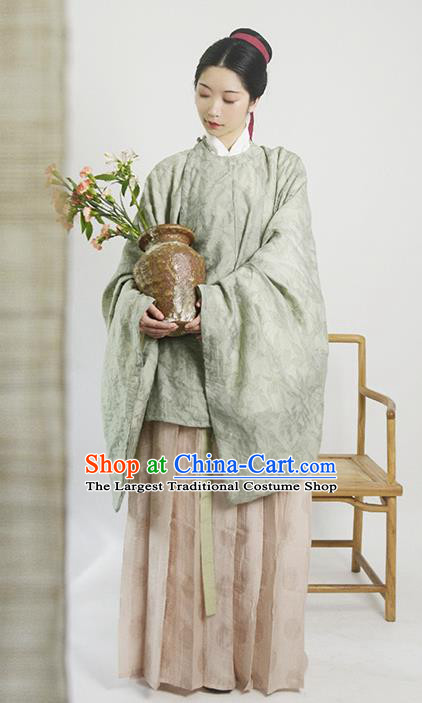 Traditional Chinese Ming Dynasty Young Lady Clothing Ancient Drama Replica Costumes for Women