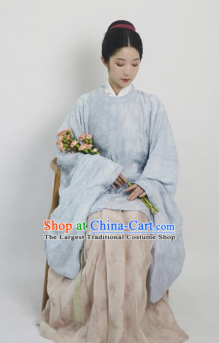 Traditional Chinese Ming Dynasty Hanfu Dress Ancient Drama Taoist Nun Replica Costumes for Women