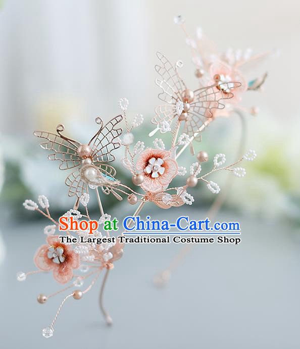 Top Grade Handmade Princess Hair Clasp Wedding Bride Hair Accessories for Women
