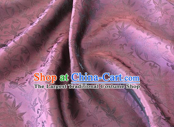 Asian Chinese Priest Frock Wine Red Silk Fabric Traditional Pattern Design Fabric Chinese Silk Fabric Material