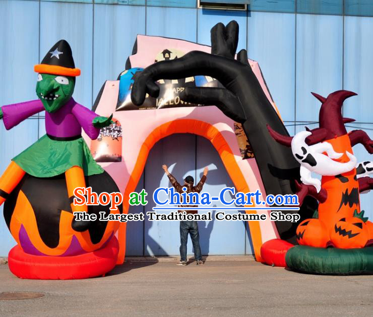 Large Halloween Inflatable Models Haunted House Inflatable Arches