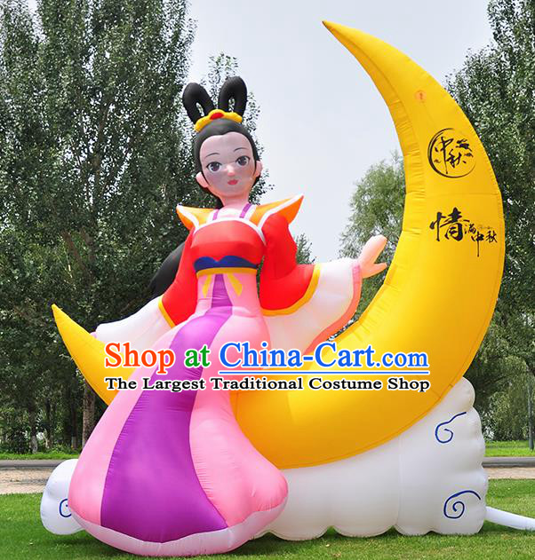 Large Halloween Inflatable Models Moon Goddess Chang E Inflatable Arches